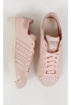 Tênis Adidas Superstar 80s Bege - fashioncloset-mobile