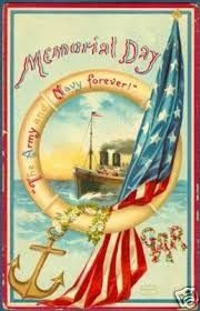 "*VINTAGE ~ Postcard commemorating Memorial Day Enter The Saturday Evening Post ""Tribute to Our Troops"" Posters Vintage, Vintage Postcards, Vintage Prints, Vintage Images, Holiday Postcards, Vintage Clip, Patriotic Images, Patriotic Posters, Doodle"