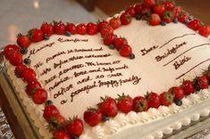 ウェディングケーキ47 Valentine Desserts, Wedding Notes, Wedding Cake Roses, Birthday Centerpieces, Strawberry Cakes, Wedding Cake Designs, Cute Food, Cakes And More, Food Art