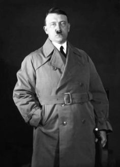 Oh fuck.. both of my favorite things combined.... Hitler and a trend coat... oh fuck imma melt awayyy.