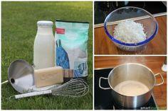 Mit einfachsten Mitteln lässt sich zu Hause ein hervorragendes Waschmittel selbst herstellen, und das völlig biologisch und zu einem Bruchteil der Kosten von herkömmlichem Waschmittel.