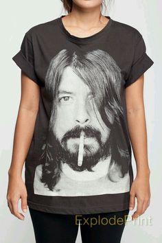 David Grohl shirt. $15.99 via Etsy