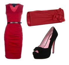 Arizona Cardinals Cardinal Red Inspired Outfit - Paint the town red in this Red dress outfit.