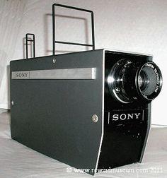1965 The Sony CVC-2000. 1st domestic video camera
