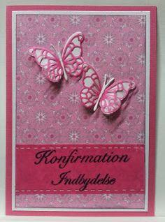 kortblogger: konfirmations indbydelser. Scrap, Lily, Invitations, Frame, Cards, Decor, Communion, Picture Frame, Decoration