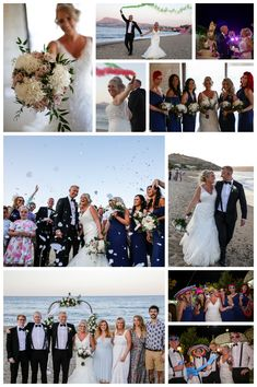 Beach wedding in Crete; destination wedding in Chania; getting married in Greece Wedding Planner, Destination Wedding, Crete, Getting Married, Real Weddings, Beach, Image, Wedding Planer, The Beach