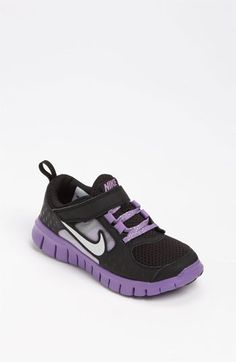Nike 'Free Run 3' Sneaker (Baby, Walker, Toddler & Little Kid) available at #Nordstrom