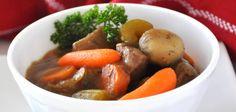 Runderstoofpot met aardappel en wortel