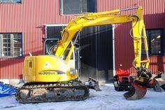 Midigrävare Kato HD308US -06 med rototilt - http://maskinverket.se/