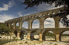 Roman Aqueduct in France