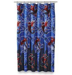 MARVEL Ultimate Spiderman Hero Micro-Fiber Shower Curtain #Marvel