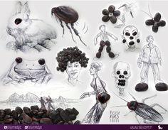 Victor Nunes yaptığı tasarımlarındaki muhteşem fikirler, harika çizim tekniği, kullandığı objeler yaratıcılığının mükkemmelliyetini gözler önüne seriyor.