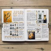 ,Notebook and School Denny Baptista: Bullet journal: 10 weekly spreads lindos! Self Care Bullet Journal, Bullet Journal Notes, Bullet Journal Aesthetic, Bullet Journal Spread, Bullet Journal Layout, Bullet Journal Inspiration, Bullet Journal Packing List, Album Journal, Journal Diary