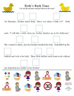 Ms. Lane's SLP Materials: Articulation: Th Story Activity Part 2