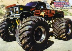 Lifted Ford Trucks, Cool Trucks, Pickup Trucks, Cool Cars, Big Monster Trucks, Monster Car, Classic Ford Trucks, Ford 4x4, Old Tractors