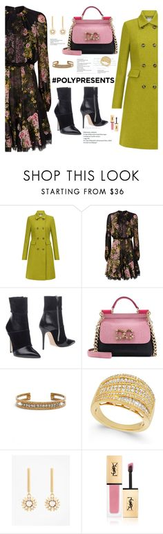 """#PolyPresents: Statement Jewelry"" by nezahat-kaya ❤ liked on Polyvore featuring Hobbs, Giambattista Valli, Roberto Festa, Dolce&Gabbana, Sorrelli, Brooks Brothers, Yves Saint Laurent, contestentry and polyPresents"