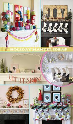 DIY-ify: Holiday Mantel Ideas