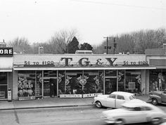 T.G. & Y. 5 and 10 store