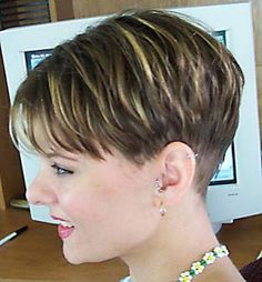 The Pixie Revolution: Pixie Cuts, Buzzed Napes, Sidebuzz Pics Oct 2nd
