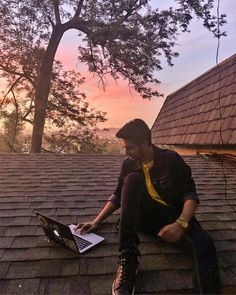 Making music on a rooftop. It almost feels like how I imagined it would be!