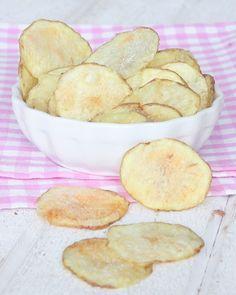 Knapriga, lövtunna chips som är mycket godare och nyttigare än köpta!