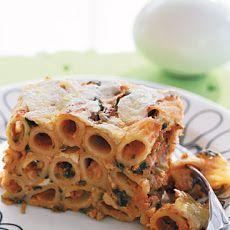 Tofu Rigatoni Casserole hmmmm