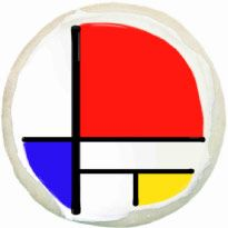 Learn about Piet Mondrian with this Art Masterpiece Cookies Lesson Plan/Project Piet Mondrian, Mondrian Kunst, Library Art, Class Library, Paintings Famous, Famous Artists, Fun Arts And Crafts, Art Template, Teaching Art
