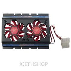 Dual-2-Cooling-Fan-4-Pins-Molex-Power-Connector-For-3-5-IDE-HDD-Hard-Disk-Drive