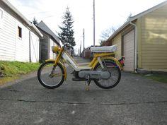 Honda Hobbit PA50-II Moped. I really,really want one.