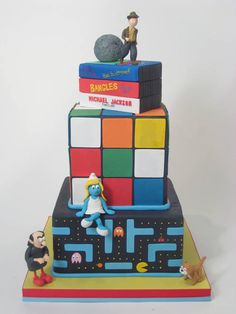 another '80's cake!