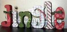 Decor wood letters diy crafts 47 ideas for 2019 Christmas Wood, Christmas Signs, Christmas Projects, Winter Christmas, All Things Christmas, Christmas Holidays, Diy Letters, Wood Letters, Large Letters