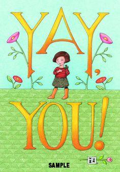 Mary Engelbreit Magnet par aimants très joyeux Yay vous cuisine cadeaux décoration