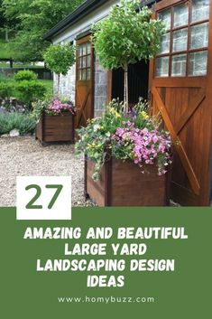 27 Amazing and Beautiful Large Yard Landscaping Design Ideas - HomyBuzz