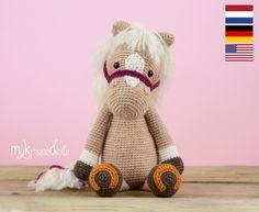 Crochet pattern  Horse Piem