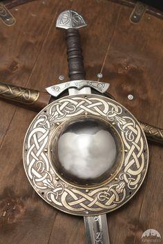 "Viking Shield Boss ""Snake"""