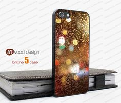 NEW iphone 5 case iphone 5 cover colorized Rain and by Atwoodting, $14.99