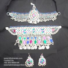 kuchi jewellery necklace Collar Tribal Fusion afghan kuchi necklace