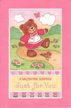A Valentine Surprise Just For You Card.I Got This From Ebay – MaryAnn – Picasa Nettalbum