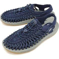 1134606615295f KEEN Kean unique sandals men UNEEK MNS Dress Blues Neutral Gray (1017032  SS17)