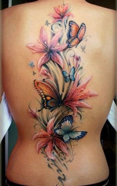 17 Prachtige Grote Rug Tattoo's Voor Onze Dames! - Tatoeages