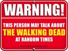 TWD Warning!!!