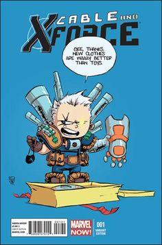 "Cable and X-Force #1 Skottie Young ""Baby"" Cover"