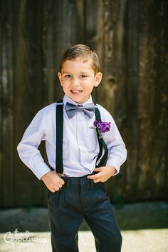 Ring Bearer Outfit for Ryder and Rhett. I am thinking navy or grey pants and suspenders. A solid or light pattern shirt, and cute bow ties.