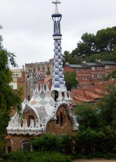 Park Guell, Antoni Gaudi's Park, Barcelona