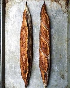 Saturday #baguettes  #janeonlarkin #sanfrancisco #baking #bread by instajorgen