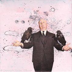 SOLD - Birds - Collage - Original