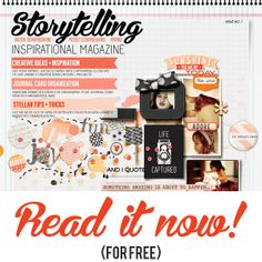 FREE Inspirational Digital Scrapbooking Magazine by Just Jaimee! Also for Pocket Scrapbooking, Project Life and Hybrid Scrapbooking!
