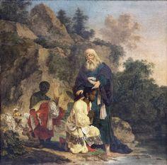 Herman Nauwincx/Naiwincx  Baptism of the Ethiopian Eunuch  Netherlands (c. 1623)
