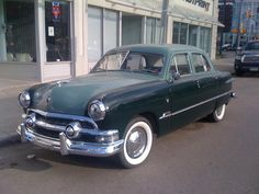 1000 images about 1951 ford on pinterest sedans ford for 1951 ford 4 door