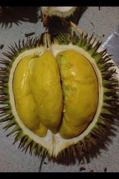 Durian!....sophisticated fruit...